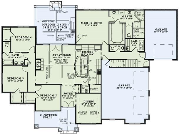 Plan #: 6 - HPP-9296 | House Plans Plus