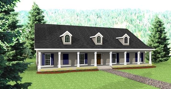 HPP 3422 front rendering
