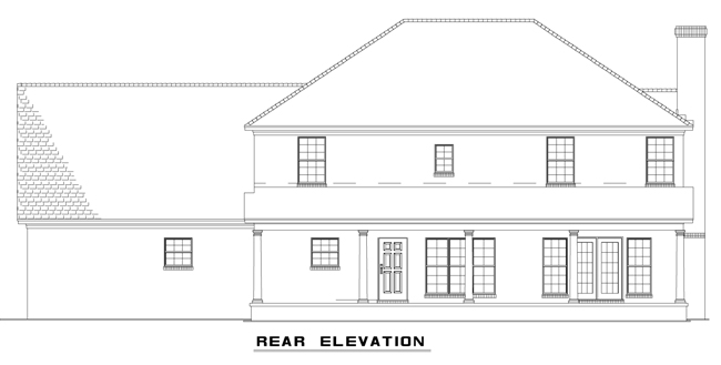 NDG704-Rear Elevation