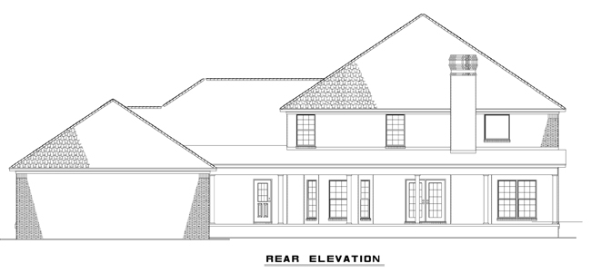 NDG716-Rear Elevation