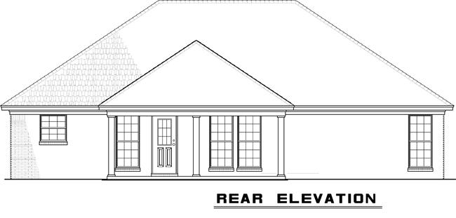 NDG723-Rear Elevation