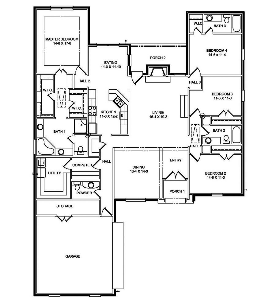 25120 First Floor Plan