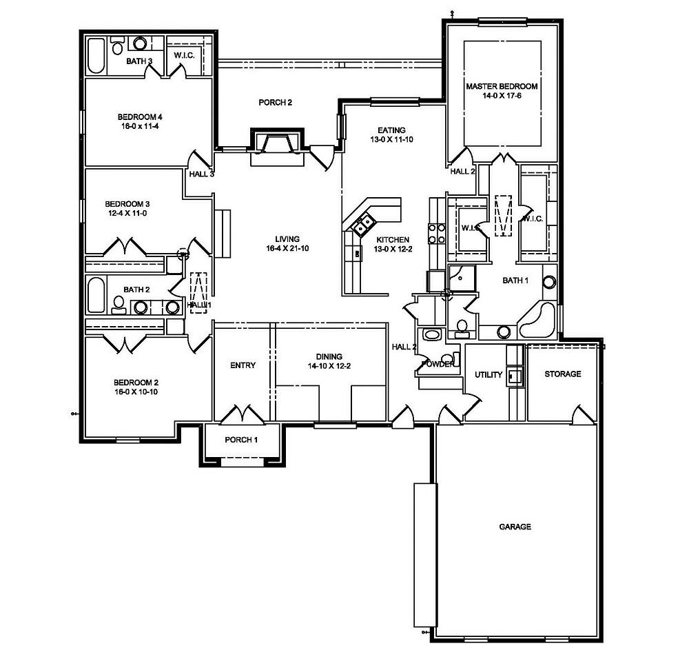2668 Floor Plan