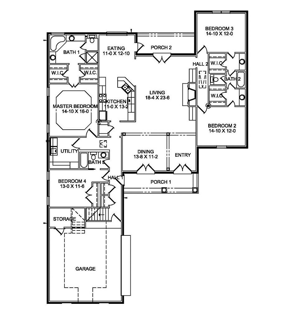 2752 First Floor Plan