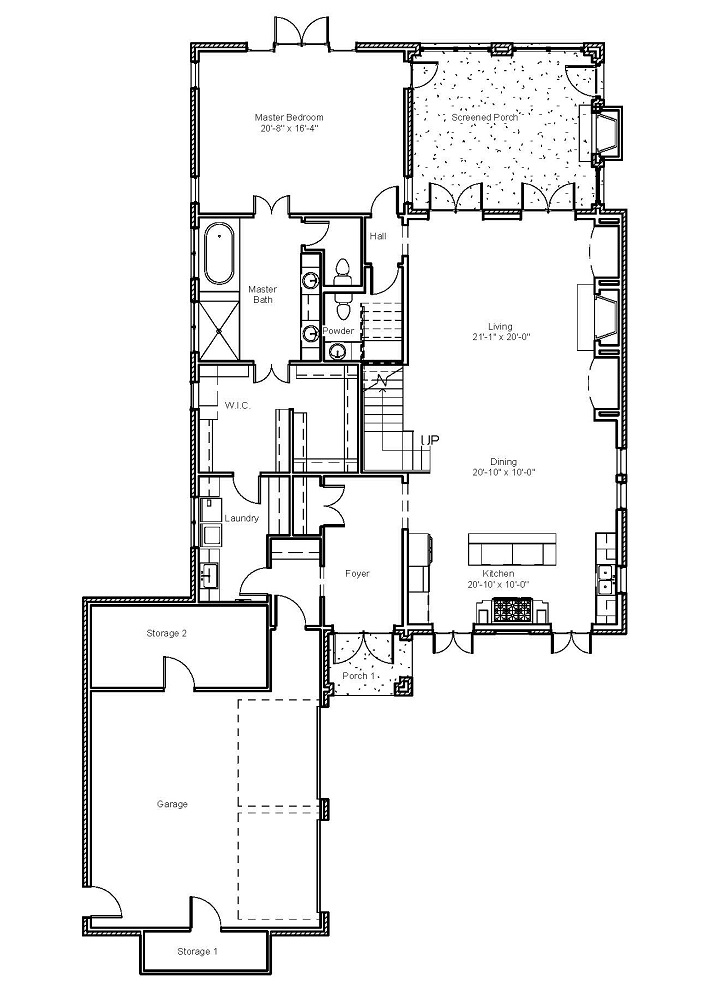 2976 First Floor Plan
