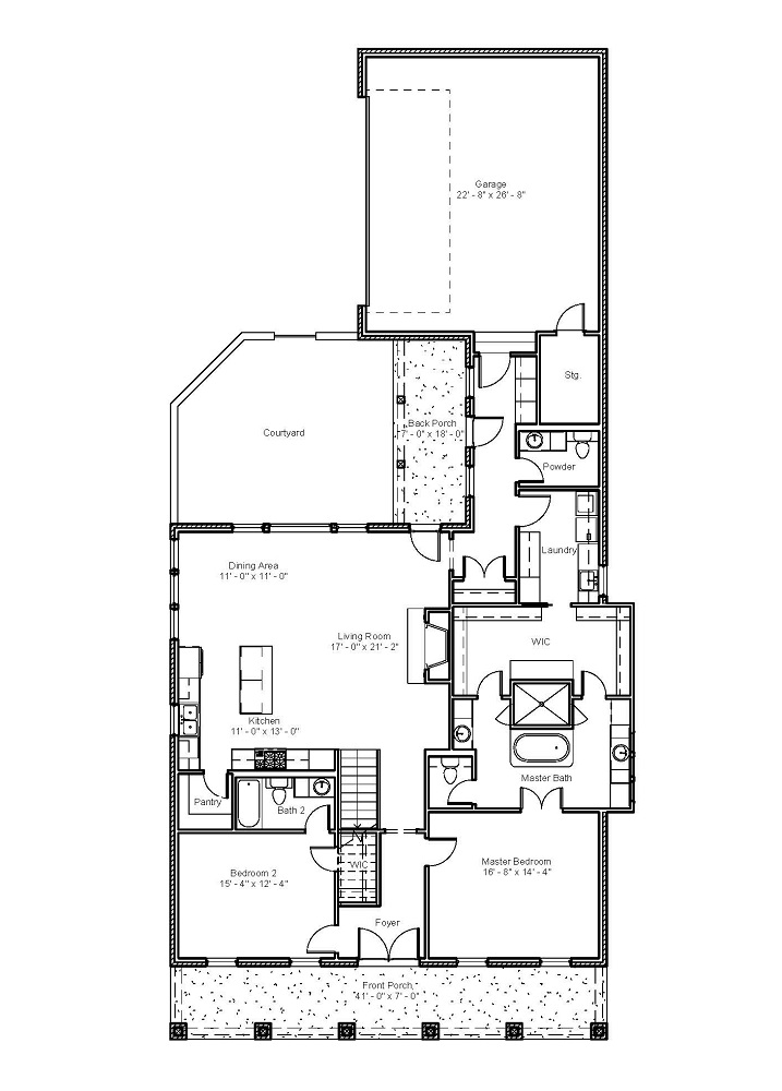 3098 First Floor Plan