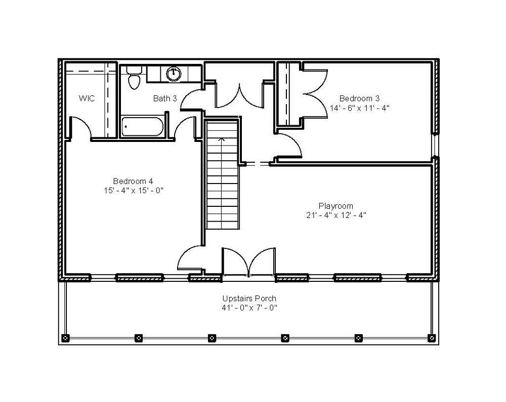 3098 Second Floor Plan