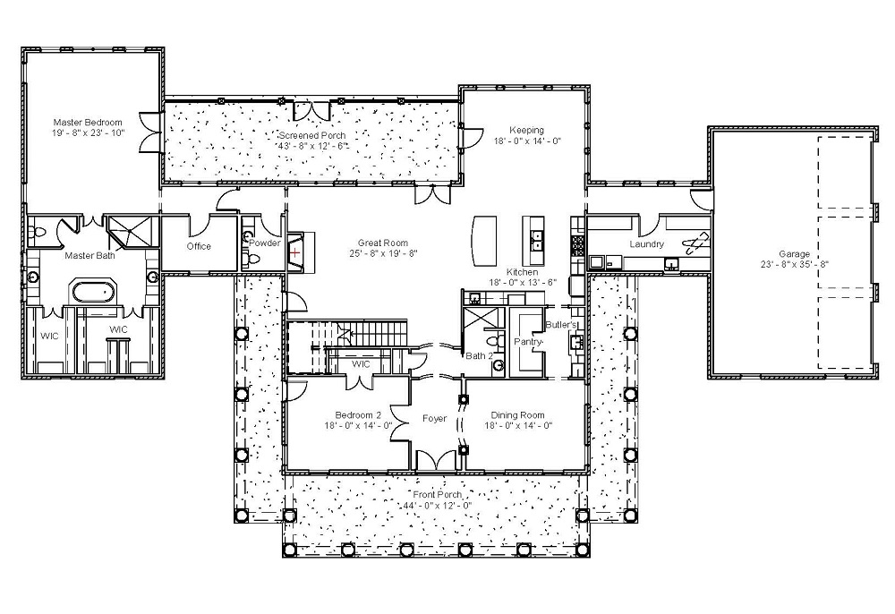 5103 First Floor Plan