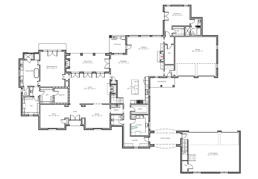 6202 First Floor Plan