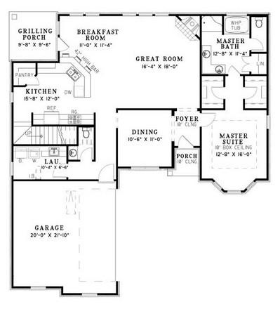NDG520-Main Floor