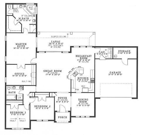 NDG550-Main Floor