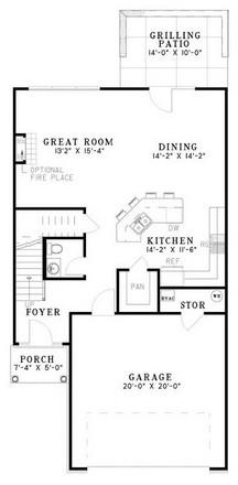 NDG644-Main Floor