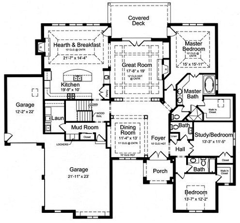 HPP 18915 FIRST FLOOR PLAN