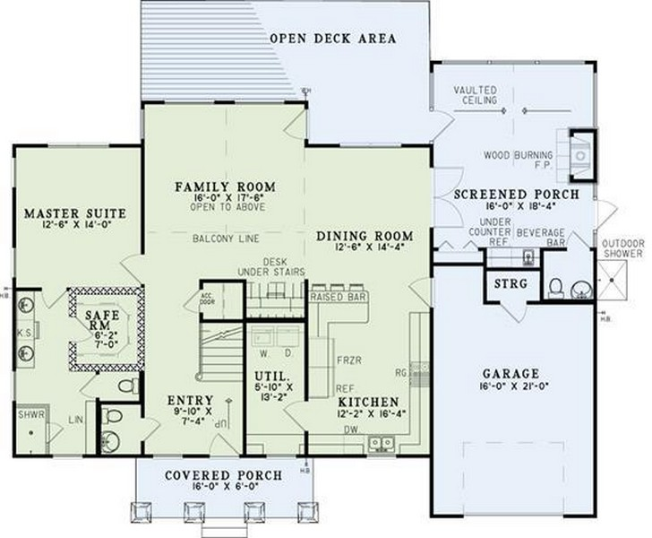 aging in place house plans house plans plus ForAging In Place Home Plans